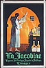 Original 1920s French Jacobine Liquor Poster CARLU Art