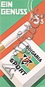 Original 1930s Bulgaria Sport Poster Bauhaus Student