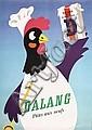 Old ORIGINAL 1940s Herbert Leupin DALANG Poster Plakat