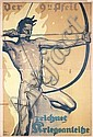 Famous German World War I Poster Erler, Fritz Erler, Click for value