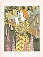 1890s Art Nouveau Print VERNEUIL + Magazine Cover