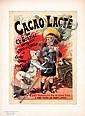Original 1890s Maitre de l´Affiche Poster Cacao Lacte