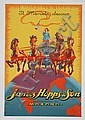 Great Original 1930s John Hopps Liquor Poster Italy
