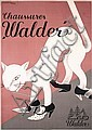 24395 Original Swiss Shoe Ad Poster Plakat White Cat