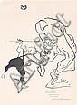 Original 1890s TOULOUSE-LUTREC Print Folies Bergere