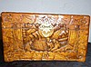 Chinese Carved  Camphor Wood Jewellery Chest