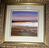 Colin Parker oil on board, Last Light, signed. 56