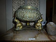 Middle Eastern Bronze Centre Piece