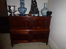 Four Door Cedar Sideboard On Queen Anne Legs