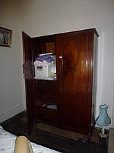 Two Drawer Cedar Wardrobe With Fitted Out Interior