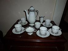 Fourteen Piece Royal Doulton Tea Set