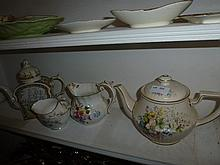 Collection Of Tea Pots & Jugs Etc Including Royal