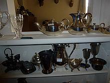 Large Quantity Of Silver Plateware Including