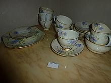 Twenty One Royal Doulton Tea Set