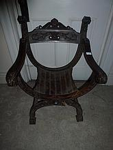 Gothic Style Medieval Very Well Carved Chair