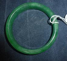 Chinese Emerald Jade Coloured Bracelet