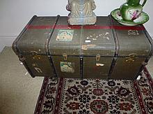 Antique Travelling Trunk