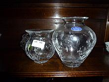 Crystalware Including Waterford & Royal Doulton