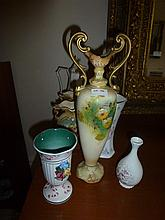 Collection Of Vases Tea Pots Etc