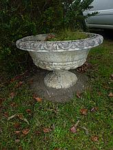 Pair Of Large Garden Classical Urns