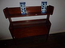 Retro Open Three Shelf Bookcase