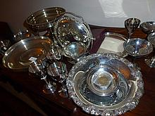 Collection Of Silver Comports