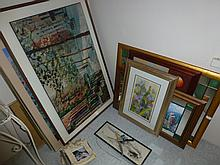 Large Quantity Of Prints & Paintings