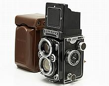 Rolleiflex TLR Camera with Planar 2.8/80 mm