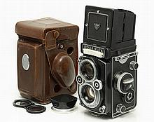 Rolleiflex TLR Camera with Planar 3.5/75 mm
