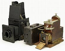 Hasselblad Express Newness , Vintage Ferrotype camera and other unknown camera