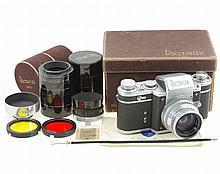 Rectaflex Camera + Angenieux 1.8/50 mm Type S1
