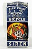 FIRE CHIEF BICYCLE SIREN W/BOX