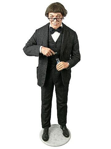 JERRY LEWIS NUTTY PROFESSOR FULL FIGURE WITH COSTUME