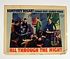 All Through The Night Signed Lobby Card