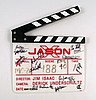 Jason X Cast & Crew Signed Production Clapboard