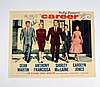 Career Anthony Franciosa/Sammy Cahn Signed Lobby Card