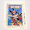 Batman Classic #401 Nov 1986 John Byrne Art Book Cover 4-Color proof