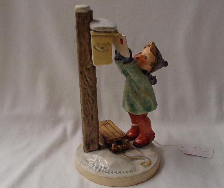 Hummel Figurine: Letter to Santa; #340; TM 4. Book