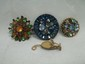 Old brooch Pendant Lot AS IS
