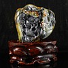 Hand Carved Chinese Natural Hetian Jade Statue - Ruyi Dragon