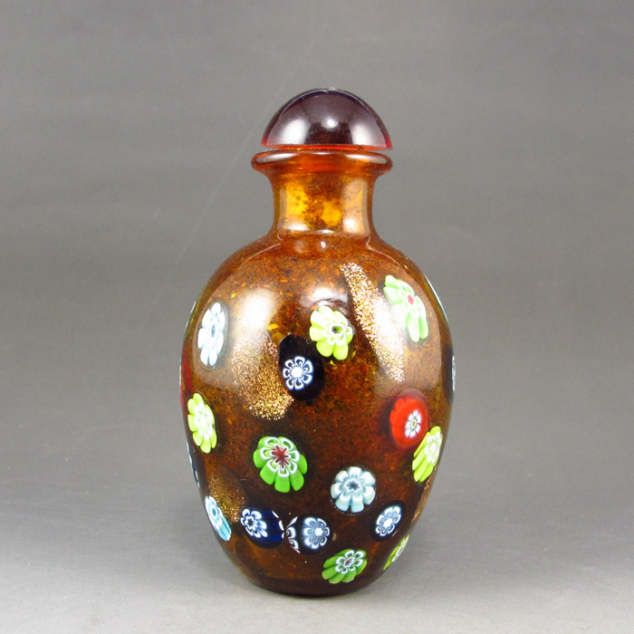 Chinese Beijing / Peking Glass Snuff Bottle