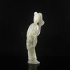 Superb Hand-carved Chinese Natural Hetian Jade Statue - Ancient Beautiful Girl