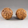 A Pair Chinese Hand Carved Art Walnut - Fortune Kids