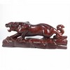 Big Vivid Hand-carved Chinese Sanders Wood Statue - Tiger