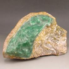 Superb Natural Jadeite Original Stone / Gamble Stone