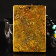 Beautiful Color Chinese Natural Zhanguo hong Agate Pendant