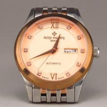 Patek Philippe Geneve 18 K Gold Diamond Automatic Watch Swiss Made