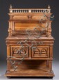 20th Century Marble Top Cabinet