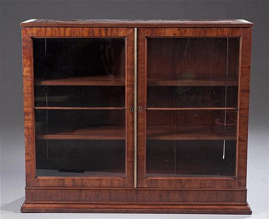 Mahogany Hanging Bookcase Top