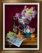 Louis Richards, Bouquet and Urn, Oil on Canvas, Od: 36 H x 29 1/2 W Id: 29 1/4 H x 22 1/2 W